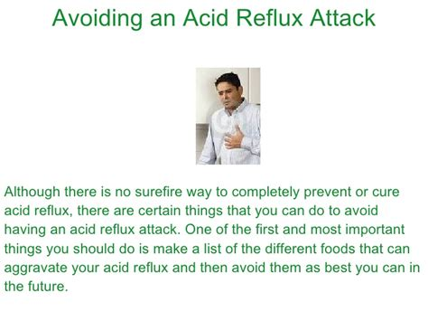 3 simple steps to eliminate heartburn and acid reflux how to avoid having an acid reflux attack