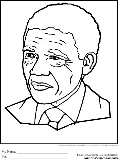Black History Coloring Pages Mandela Coloring Pages Black History Coloring Pages