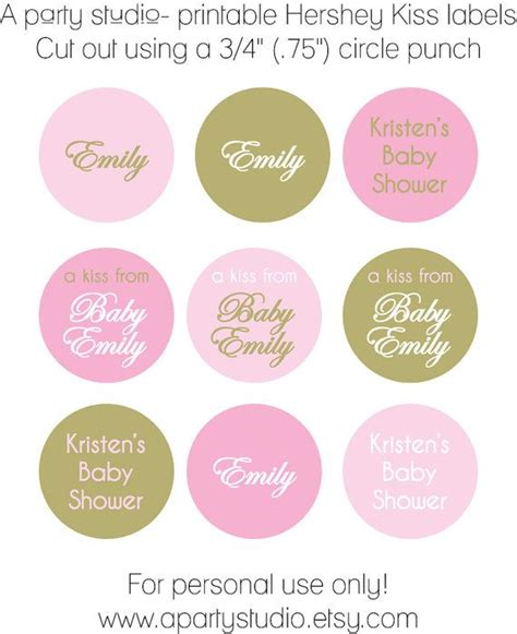printable hershey kiss label 257 best candy kisses all dressed up images on pinterest