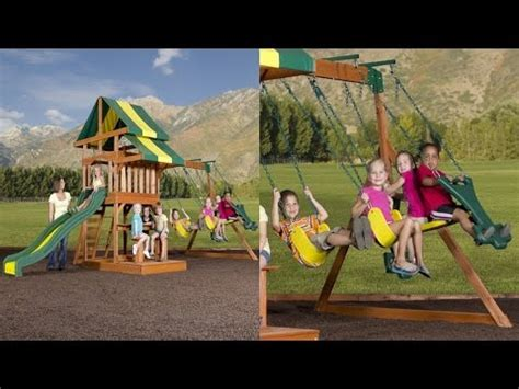 backyard discovery independence swing set backyard discovery independence all cedar wood playset