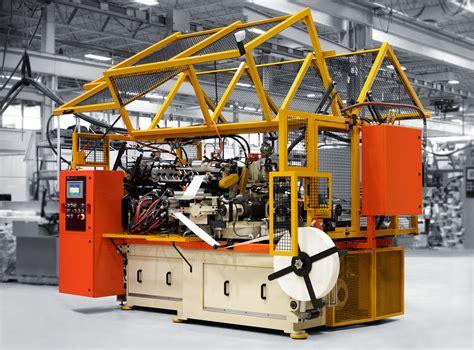 Paper Machinery - pmc 1250c forming machine paper machinery corporation