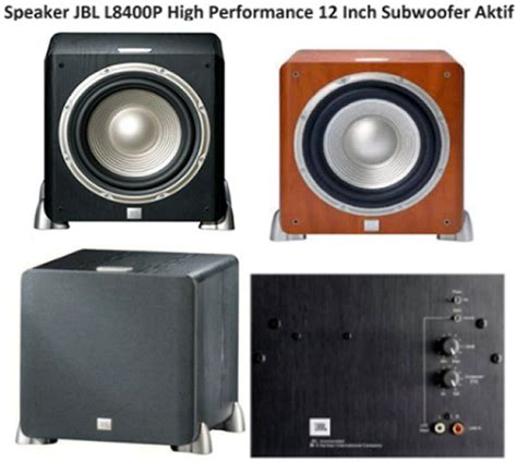 Subwoofer Aktif 12 Inch harga speaker jbl l8400p subwoofer aktif 12 inch portal