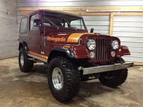 1979 Jeep Renegade For Sale Purchase Used 1979 Jeep Cj7 Renegade 360 V8 In Cleveland
