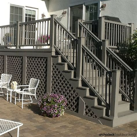 5 Ways To Go Skirting Around Fabulously by 17 Best Ideas About Deck Colors On Deck Back