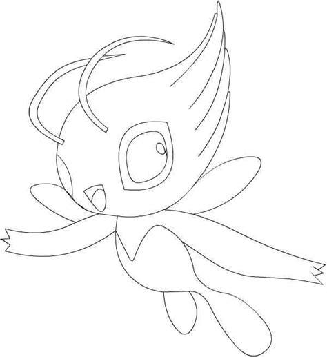 pokemon coloring pages celebi pokemon celebi coloring pages images pokemon images