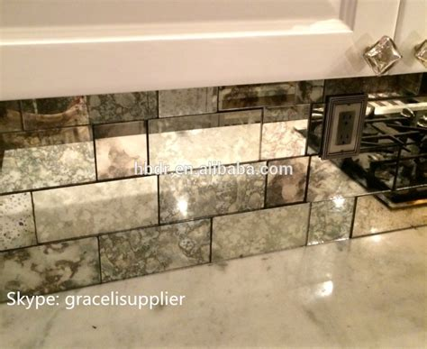 china supplier environmental friendly antique mirror glass tiles for decoration buy antique
