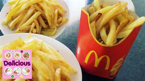 fries mcdonalds recipe how to make