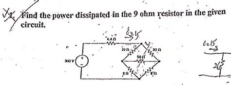 determine the power dissipated by the 40 ohm resistor calculate the power dissipated by a 10k ohm resistor carrying 100 ua 28 images electrical