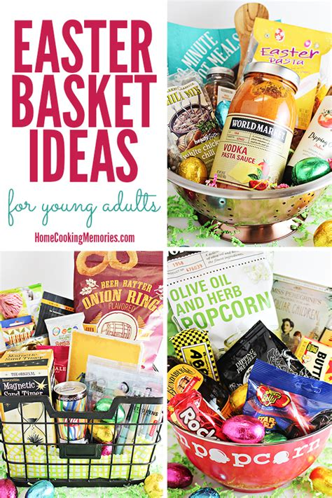 adult easter basket ideas 3 easter basket ideas for young adults or older teens