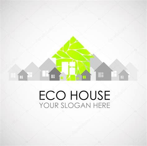 housing logo design eco h 225 z logo tervez 233 s 214 kol 243 giai 233 p 237 t 233 se 214 ko 233 p 237 t 233 szet 214 ko h 225 z 233 s a k 246 rnyezet stock vektor