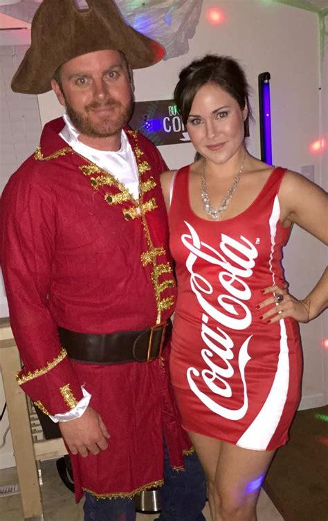 captain  coke homemade halloween couples costumes