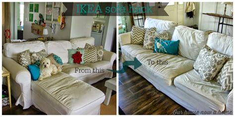 ikea sofa hacks ikea ektorp sofa hack our house now a home