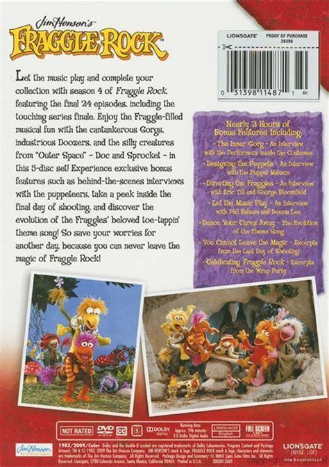 fraggle rock  complete final season dvd dvd empire