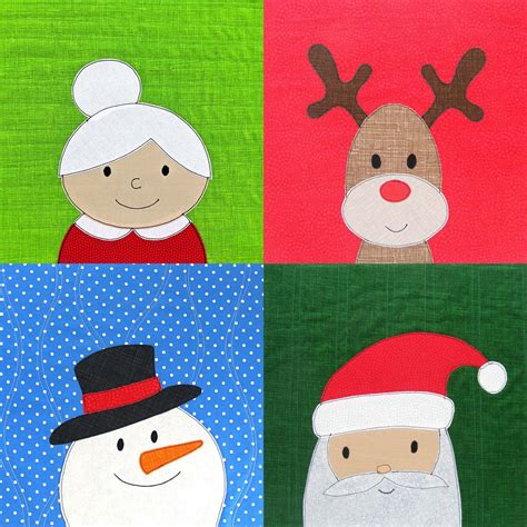 Free Applique by Mrs Claus Free Applique Pattern Shiny Happy World