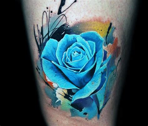 watercolor tattoo near me collection of 25 watercolor blue tattoos