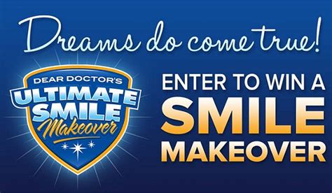 in it to win it when your doctor says stat books win a 35000 ultimate smile makeover at deardoctor