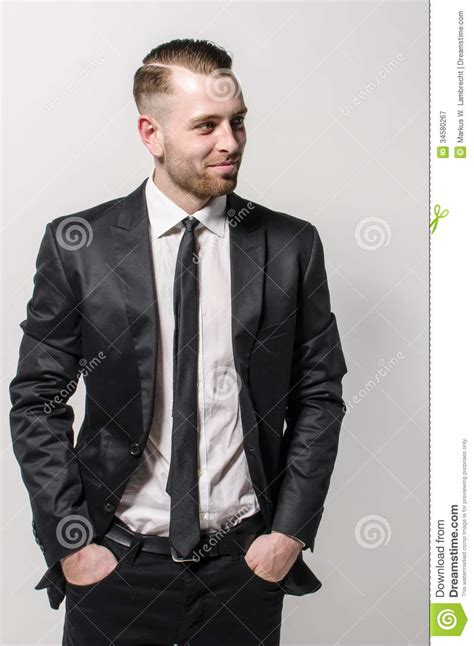 ties for short men man with tie smiling royalty free stock photography