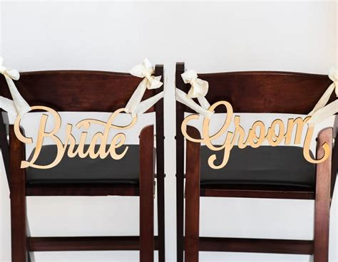 And Groom Chair by And Groom Chair Signs For Wedding Hanging Chair