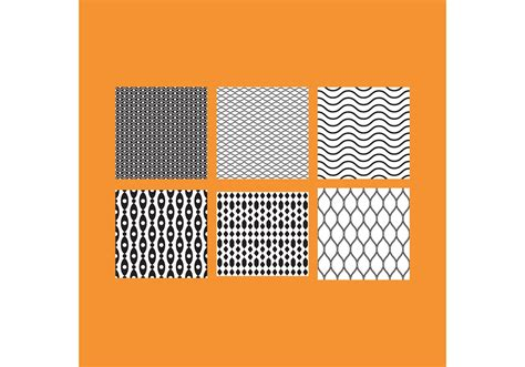 easy designs simple b w patterns 5 free vector stock