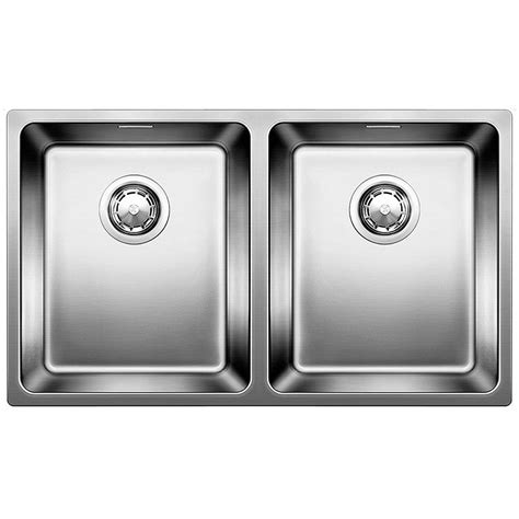 blanco andano 340 340 u undermount stainless steel kitchen
