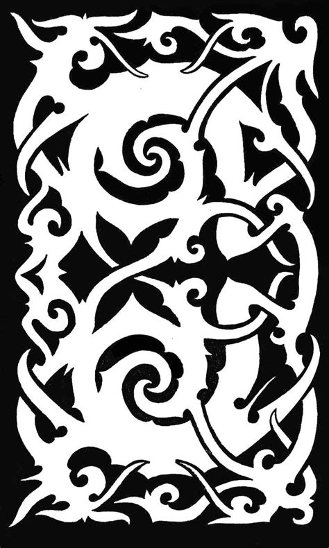 borneo tribal tattoo sarawak iban tatto malaysia asian tatto design