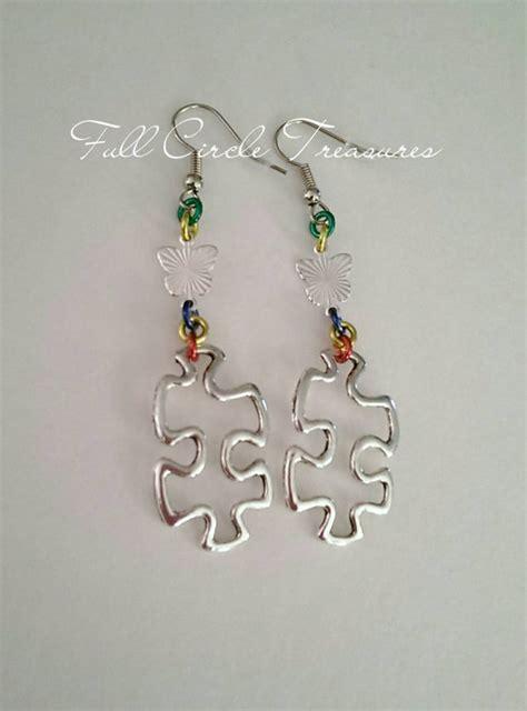 autism awareness earrings autism awareness jewelry