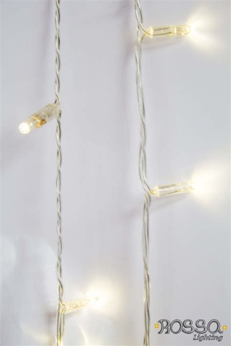 string lights string led lights white clear cable