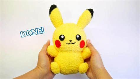 easy diy sock plush diy pikachu sock plushie with free pattern diy tutorial