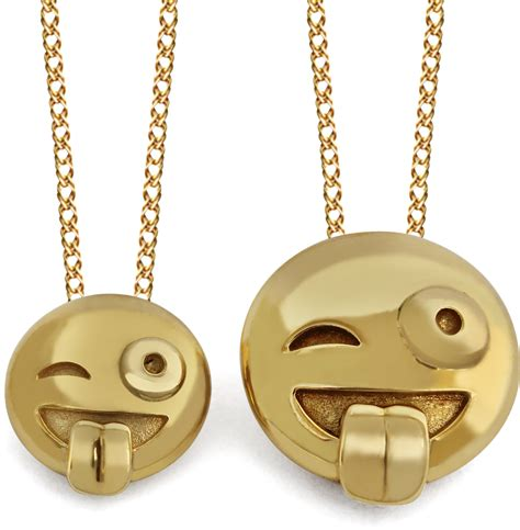 emoji jewelry 3d crazy face emoji pendant crazy face emoji jewelry crazy