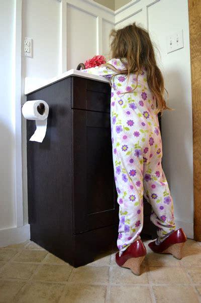 vanity step drawer ana white