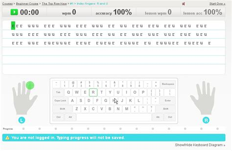 typing tutorial website typingweb offers free typing lessons