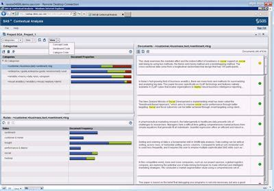 pattern analysis sas sas 174 contextual analysis delivers faster insight from