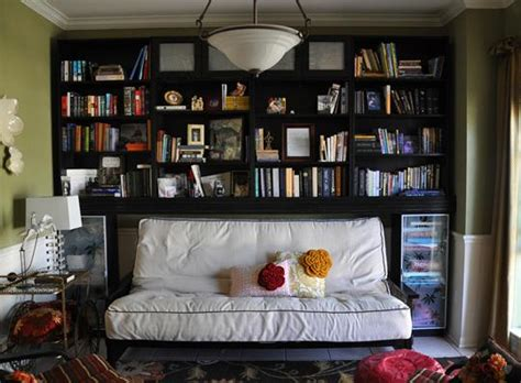 Dining Room Turned Library Room Of The Day Repurposed Dining Room Becomes Cozy