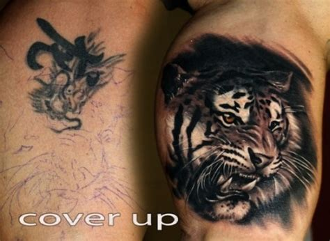 lion tattoo ideas cover up design idea for 66 cover up ideas inkdoneright