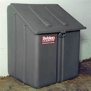 behlen country poly feed storage container southern - Poly Storage Containers