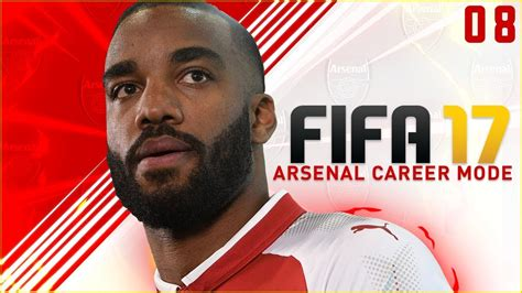 arsenal career fifa 17 arsenal career mode ep8 big game vs chelsea