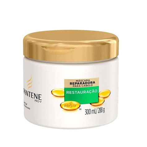 Sho Pantene 70 Ml pantene creme tratamento restauracao profunda 300 ml