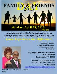 Holy light church deliverance the light house of hampton roads