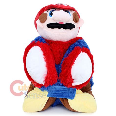 mario pillow pad transforming cushion pillow pet ebay
