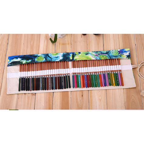 pattern for roll up pencil case various pattern canvas curtain holder pouch roll up pen