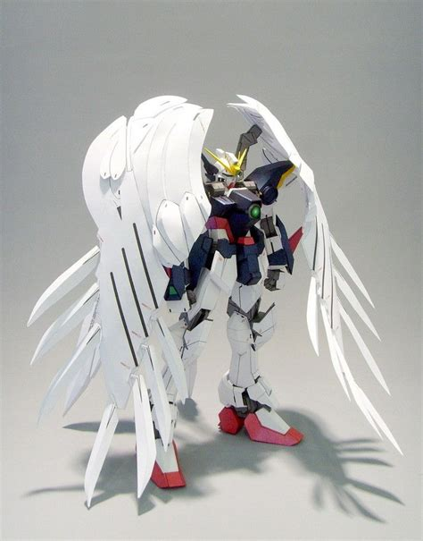 Gundam Wing Papercraft - papercraftsquare new paper craft xxxg 00w0 gundam