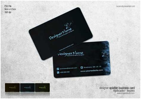 fancy business cards templates free psd freebies free business card psd templates