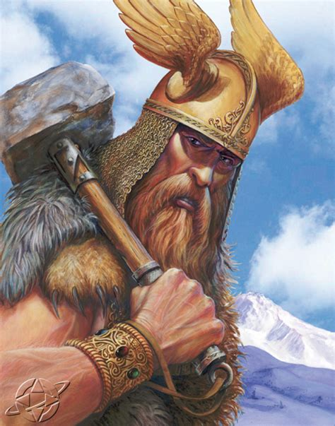 ancient god thor norse jaredkennedy