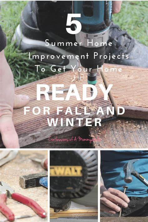 5 summer improvement projects to get your home ready for