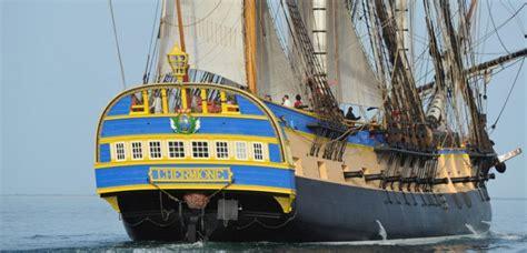 hermione bateau voyage l hermione prend le large pour un voyage historique