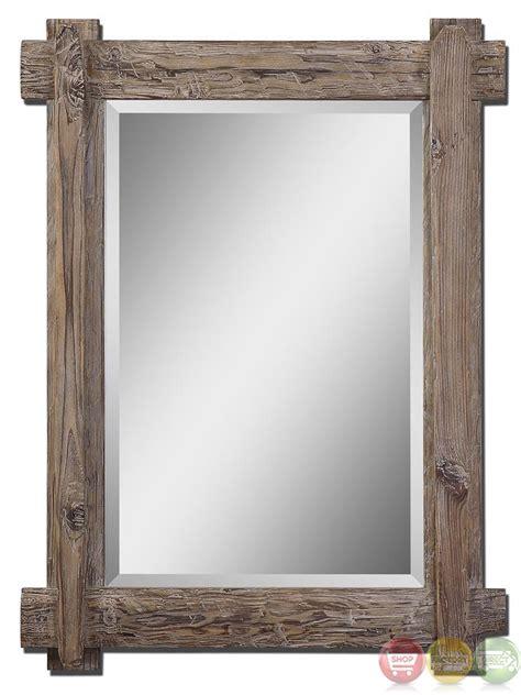 Rustic Vanity Mirror   30 Quot Neeson Vanity Mirror Rustic