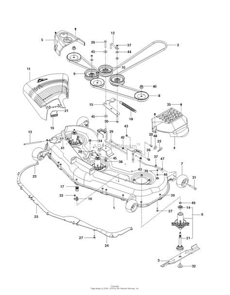husqvarna lawn mower parts diagram husqvarna rz54i 967003603 2012 12 parts diagram for