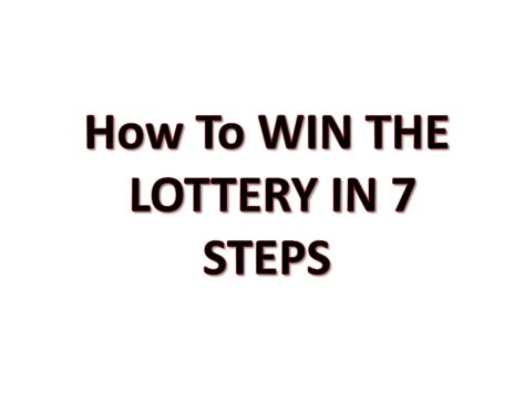 7 Tips On Winning The Lotto by How To Winning Lottery Numbers The Lotto Black Book