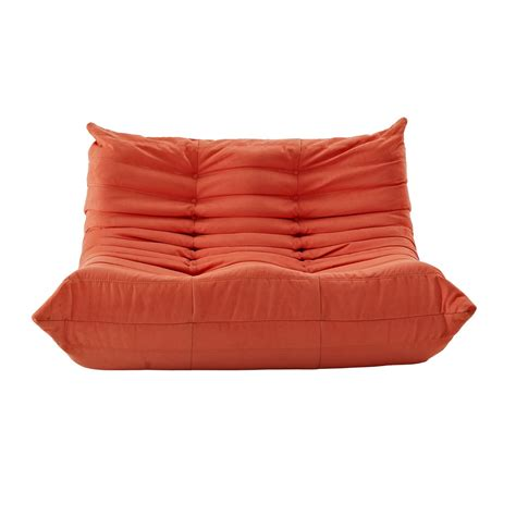 wave runner contemporary bean bag style upholstered