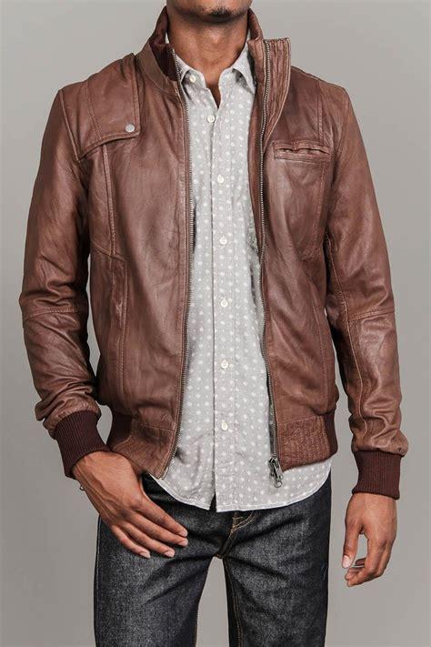 Jaket Zippee Vain leather bomber jacket vain wear